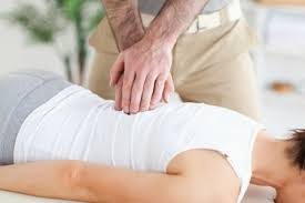 Osteopathic treatment for lower back pain